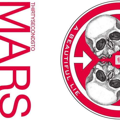 Capa do álbum A Beautiful Lie