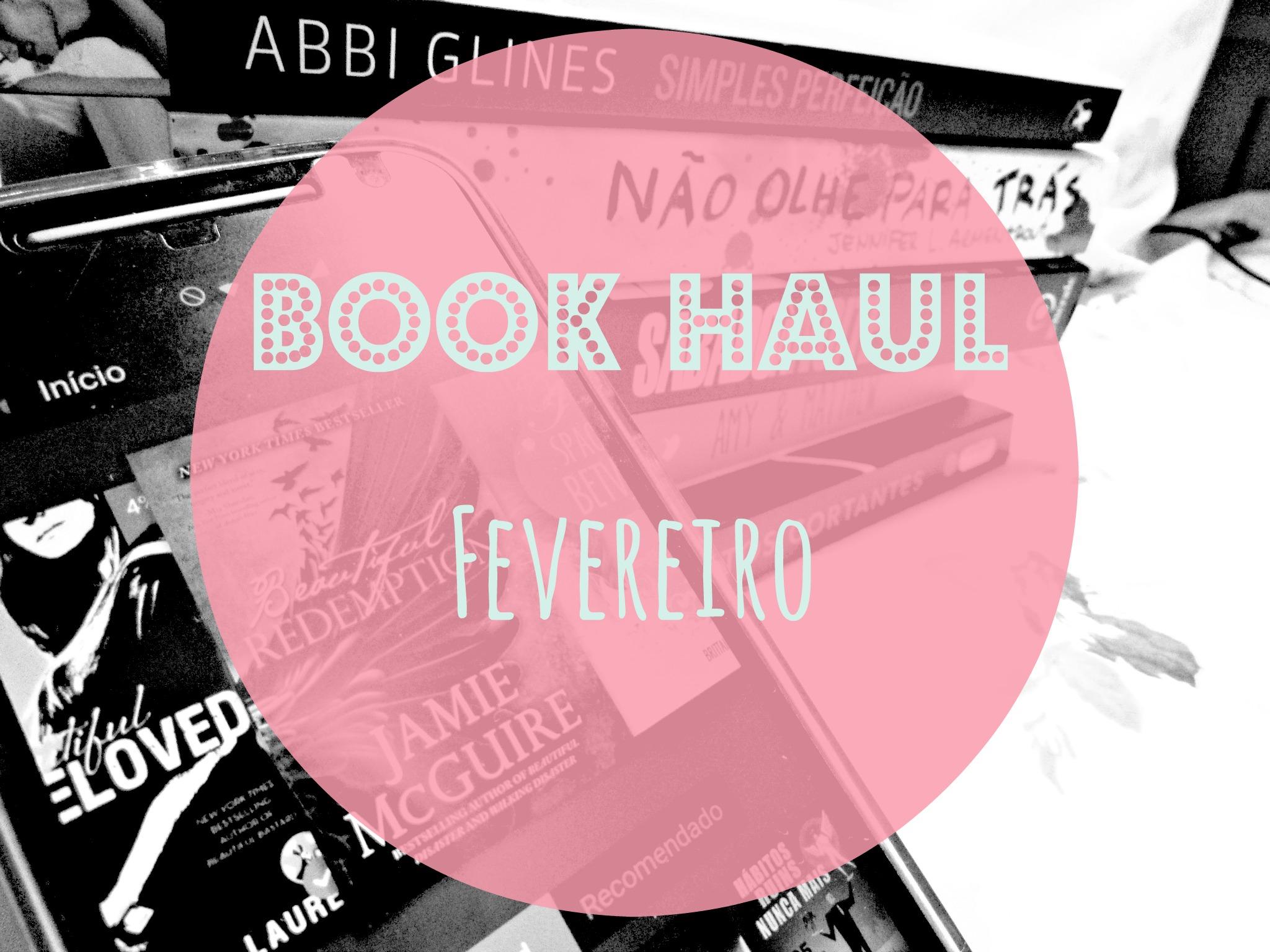 Book Haul - Fevereiro Antes das cinco