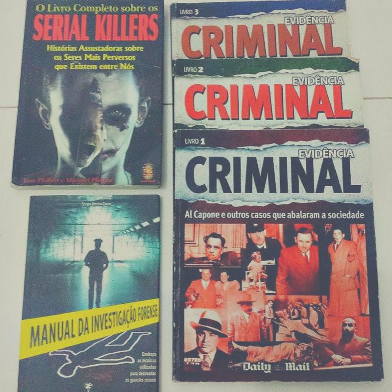 Coleção Evidência Criminal